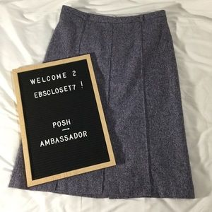 Kenneth Cole NY Pencil Skirt Wool Blend